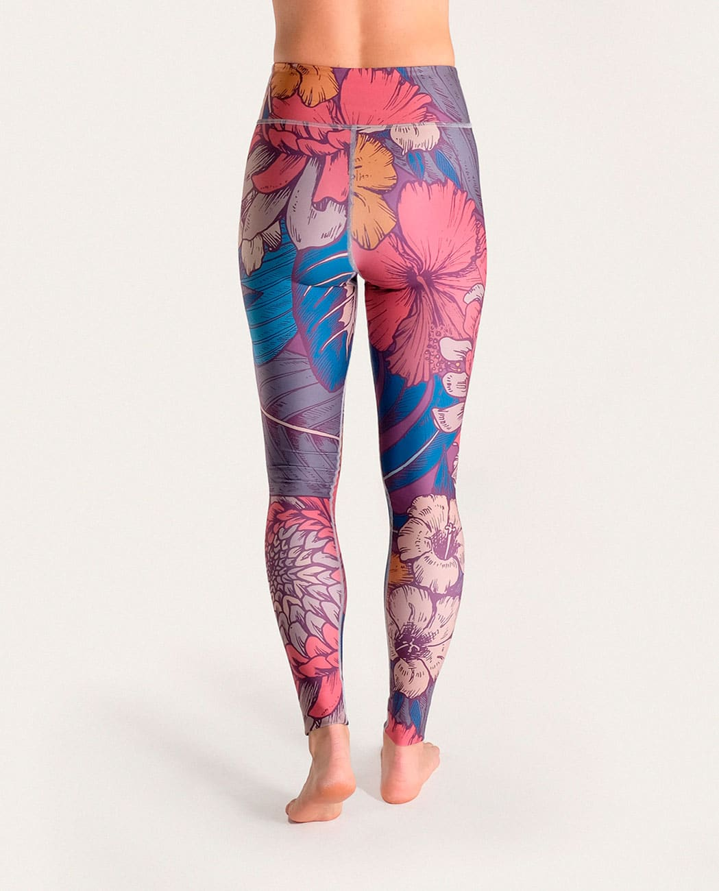 Blossom Yoga Leggings Komoshi Back
