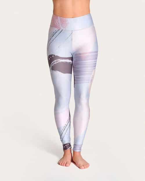Brush Yoga Leggings Komoshi Front