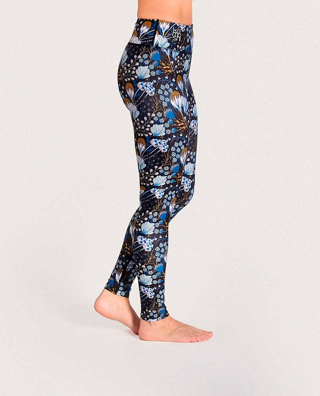 Flora Yoga Leggings Komoshi Right