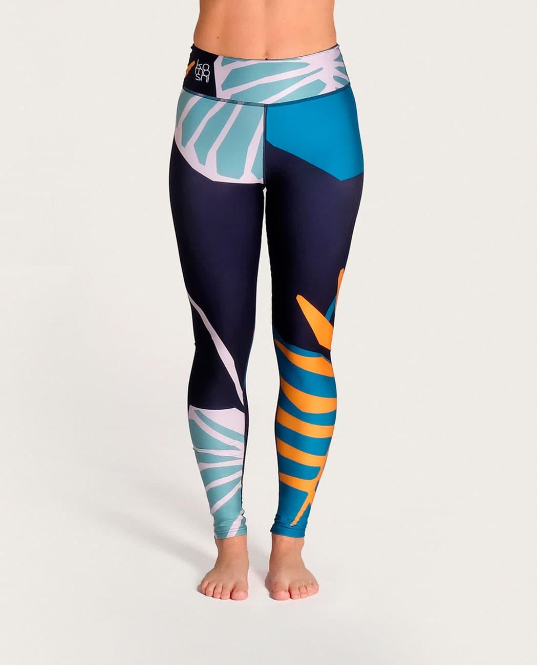 Jungle Yoga Leggings Komoshi Front