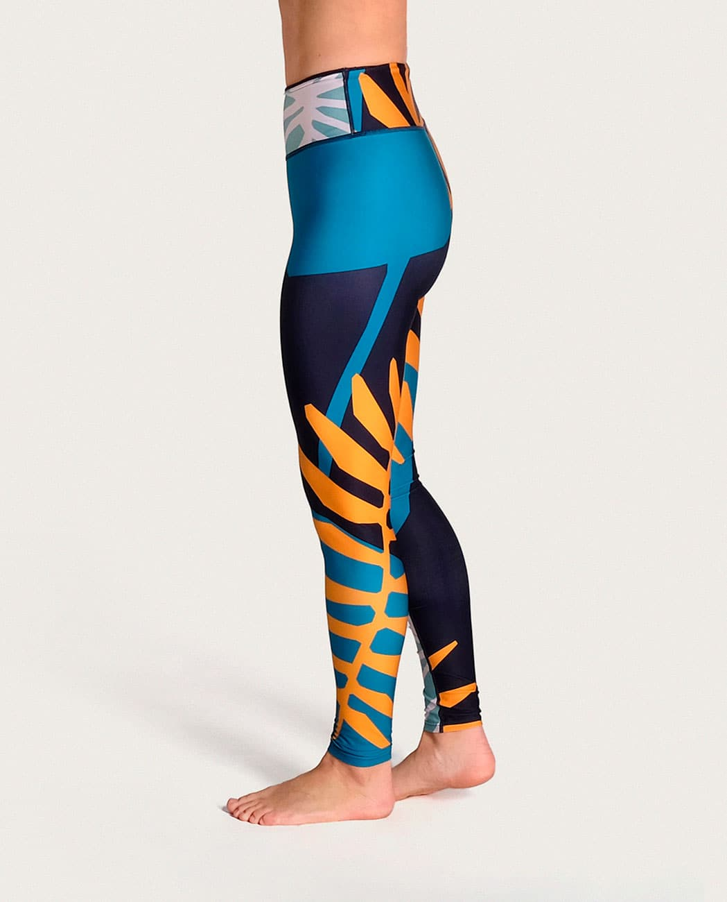 Jungle Yoga Leggings Komoshi izquierda
