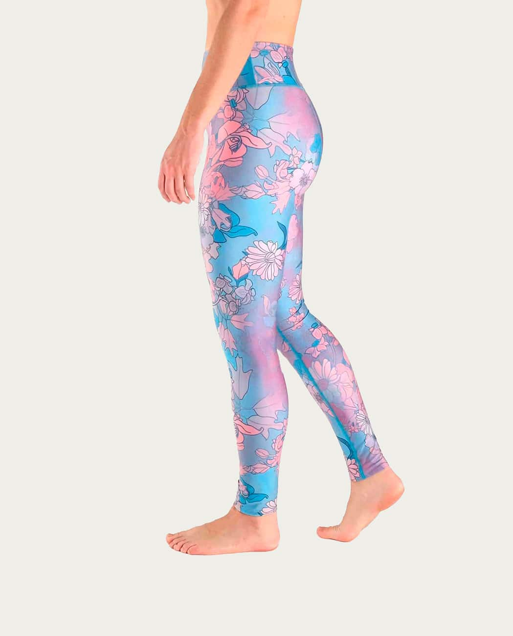Shanti Yoga Leggings Komoshi Left