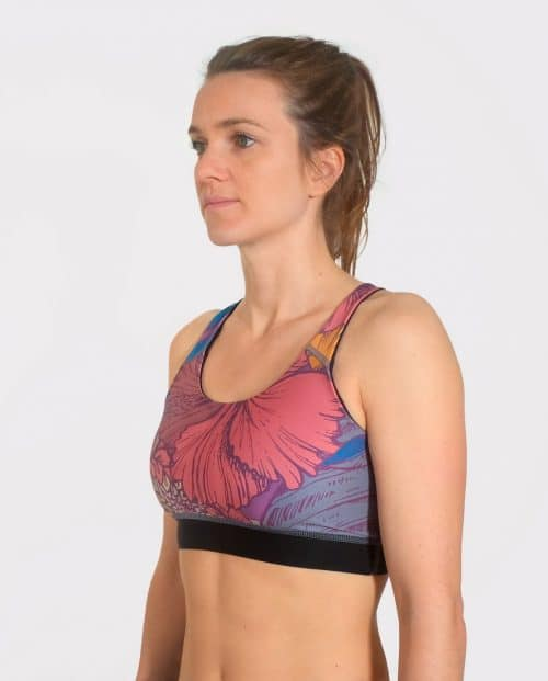 BLOSSOM TOP SPORTS BRA FRONT