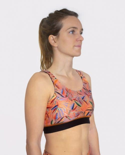 ITAKA TOP SPORTS BRA FRONT